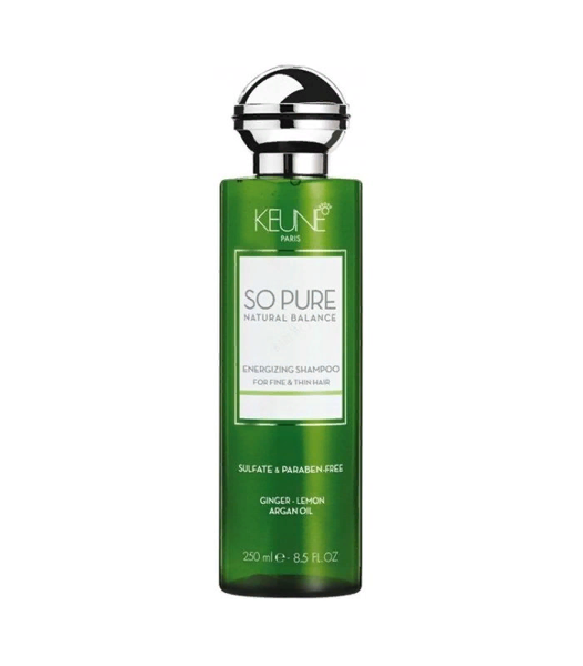 KEUNE SO PURE ENERGIZING SHAMPOO FOR FINE AND THIN HAIR 250ML